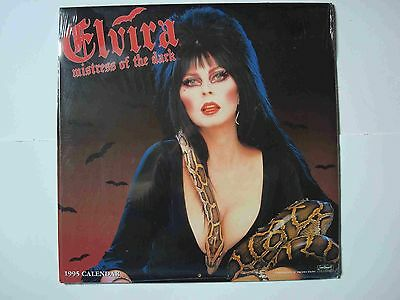 Elvira Mistress Of The Dark 12 Month Calendar 1995 Queen B Productions, Landmark