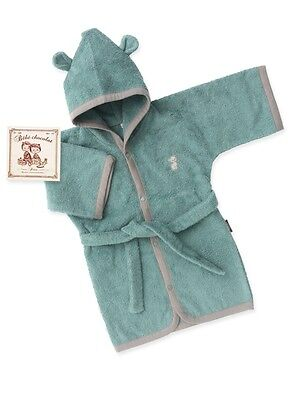 Bébé Chocolat 7500 Collection Chaton Peignoir gris vert 1 an