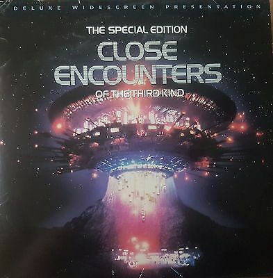 Close Encounters Of The Third Kind Deluxe Widescreen Dbl Laser Disc
