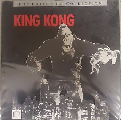 King Kong The Criterion Collection Laser Disc