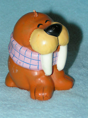 Mega Rare & NEW/Unused! 1984 Wicks-n-Sticks WALRUS CANDLE Unlit