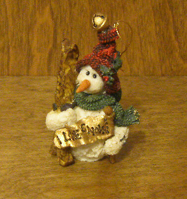 Boyds Resin Ornaments 2560 Olaf...Let It Snow NIB From Retail Store SNOW DOOODES