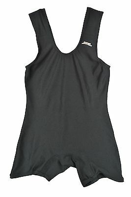 MENS Inzer Power Lifting Singlet Body Building GYM Black Advance Designs