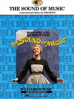 The Sound of Music Trumpet Solo Sheet Music 9 Movie Songs Play-Along Book CD NEW