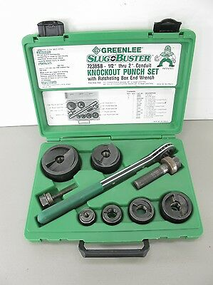 GREENLEE SlugBuster Knockout Punch Kit with Wrench Driver 7238SB