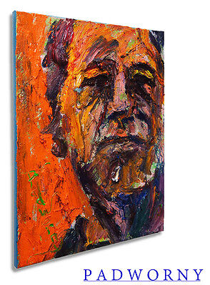 Modern Original Oil Painting Vintage Impressionist█Art Realism Signed Abstract A