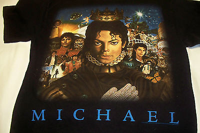 The Many Faces of Michael Jackson King of pop Shirt size M