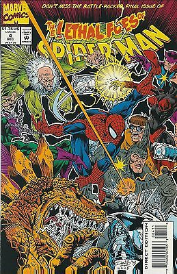 The Lethal Foes Of Spider-Man #4 (1993) Marvel Comics V/f+
