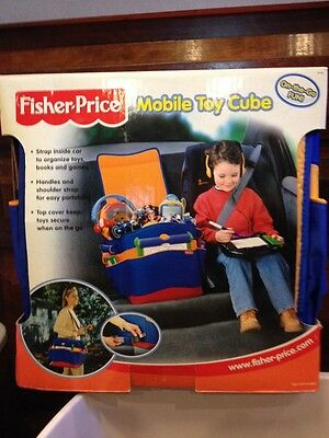 New Fisher Price Mobile Toy Cube On-The-Go Fun