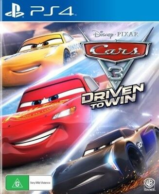 Cars 3 Driven To Win PS4 (PAL) New!