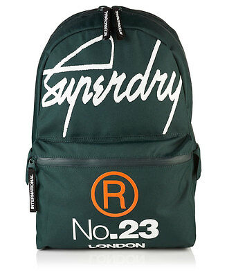 New Mens Superdry International Montana Rucksack Green