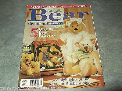 Australian Bear Creations Vol 8 No. 6 Yearbook crafts
