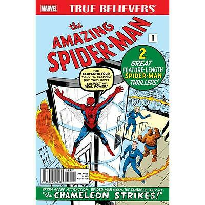 True Believers Amazing Spider-Man 1, with Fantastic Four crossover