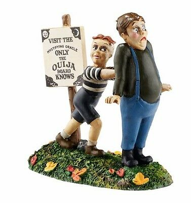 Department 56 Halloween Village Don't Be A Scaredy Cat Figurine 4054977 New