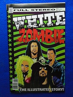 ~~ White Zombie ~ Rock And Roll Biographies #7 ~ The Illustrated Story! ~ 2015 ~
