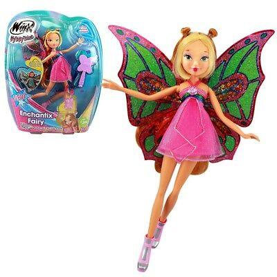 Winx Club - Enchantix Fairy Puppe - Fee Flora