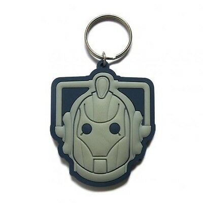 Doctor Who Cyberman PVC Keyring with Free UK P&P