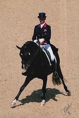 Carl Hester Hand Signed 12x8 Photo Team GB Olympics.