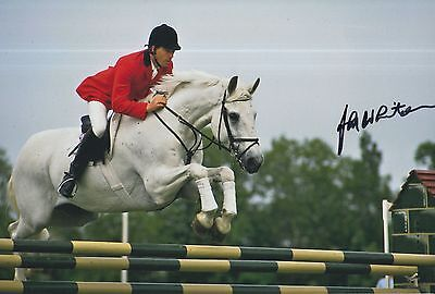 John Whitaker Hand Signed 12x8 Photo Team GB Olympics 5.