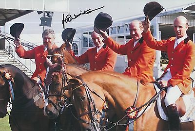 John Whitaker Hand Signed 12x8 Photo Team GB Olympics 7.