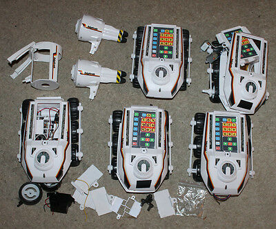Big Trak Bigtrak Jr Programmable Electronic Vehicle (Works) Extra Bodies & Parts