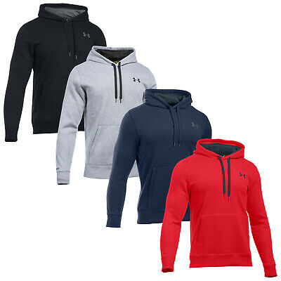 Under Armour Mens Storm Rival Cotton Hoodie -New UA Pullover Sweatshirt Top