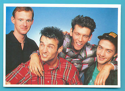 WET WET WET.POSTCARD PUSBLISHED 1980s (2)
