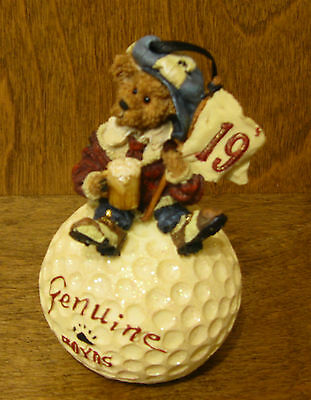 Boyds Resin  Ornament #25719 McDUFFER...19th HOLE, NIB From Retail Store GOLF