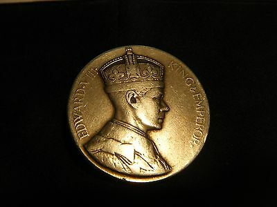 Silver King Edward Viii 1936 Ascention Abdicated Fantasy Coin/medal/medallion
