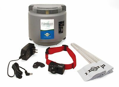 PIF-300 PetSafe Wireless Containment Dog Fence System 1-4 Dogs with 3 batteries