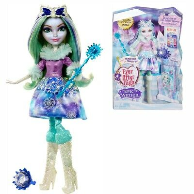 Ever After High Puppe - Ewiger Winter Crystal Winter