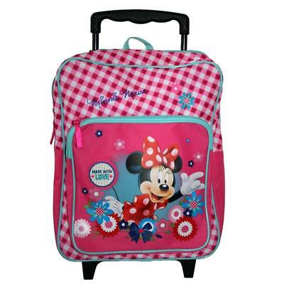 Minnie Maus - Trolley Rucksack Kinder Classic Mouse 35x28x14cm