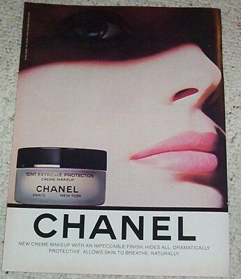 1983 advertising page - Chanel Beauty Cosmetics 1-PG PRINT AD Advert clipping