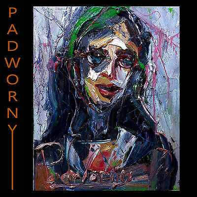 Original█Oil█Painting█Large█Expressionist█Art█Pop█Realism█Signed█Folk█Abstract█A