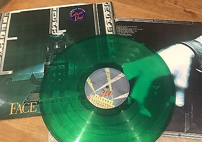 "Green Vinyl ELO FACE THE MUSIC 12"" LP ELECTRIC LIGHT ORCHESTRA"