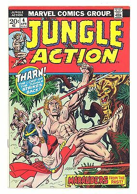 JUNGLE ACTION #4  Marvel 1973 - Golden Age Reprints - Lorna, Tharn, Jann - VF