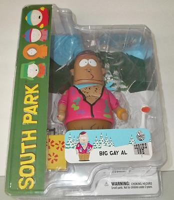 South Park BIG GAY AL Series One Mezco Action Figure New in Package