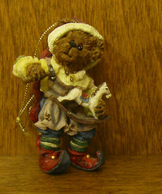 Boyds Resin Ornament #25749 Tinker...A Few Little Taps,  NIB From Retail Store