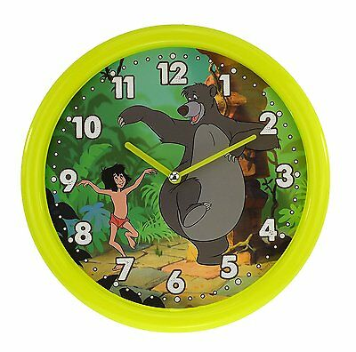 The Jungle Book Disney Wall Clock D1307 Mowgli and Baloo New