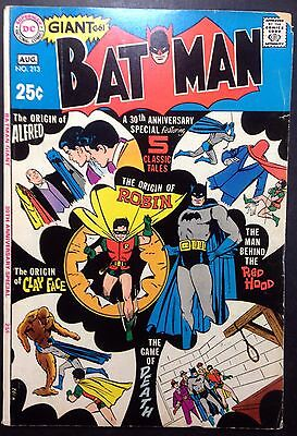 BATMAN (1940) #213 VG/FN (5.0) (G-61) giant