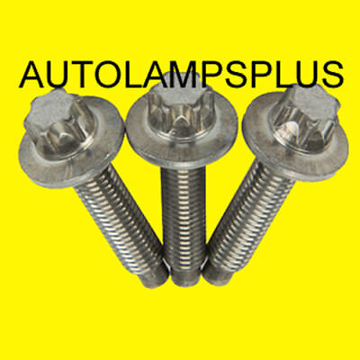 BMW Water Pump Bolt Kit Set of 3 Aluminum 128i 328i 525i X3 Z4 GENUINE NEW