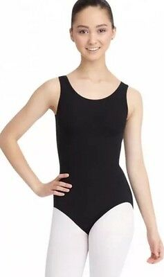 NEW! Capezio Professional Dancewear Ladies Tank Dance Ballet Leotard TB142