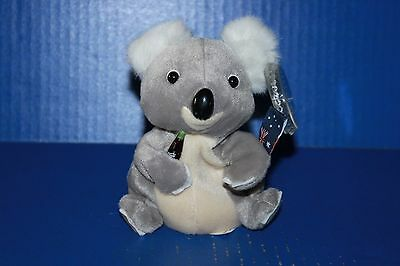 Coca Cola International Bean Bag Plush Collection Quala the Koala Australia