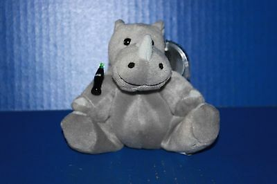 Coca Cola International Bean Bag Plush Collection Rhiny the Rhino Tanzania