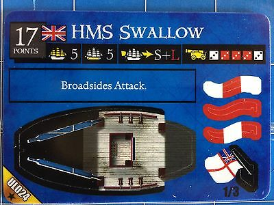Pirates of the Revolution - HMS Swallow UL024