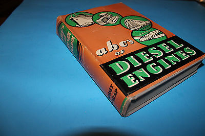 Book:  A B C's of Diesel Engines  1936
