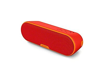 Sony SRSXB2/RED Portable Wireless Speaker with Bluetooth Red BRAND NEW