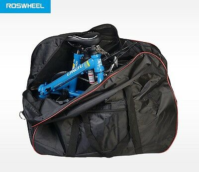 Roswheel folding bike travel transport carry bag suit Brompton commuter 181238