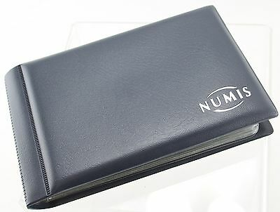 Numis Coin Album with 48 pockets - blank cover style