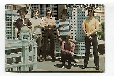 The Rising Sons - South African pop group - c1960's postcard